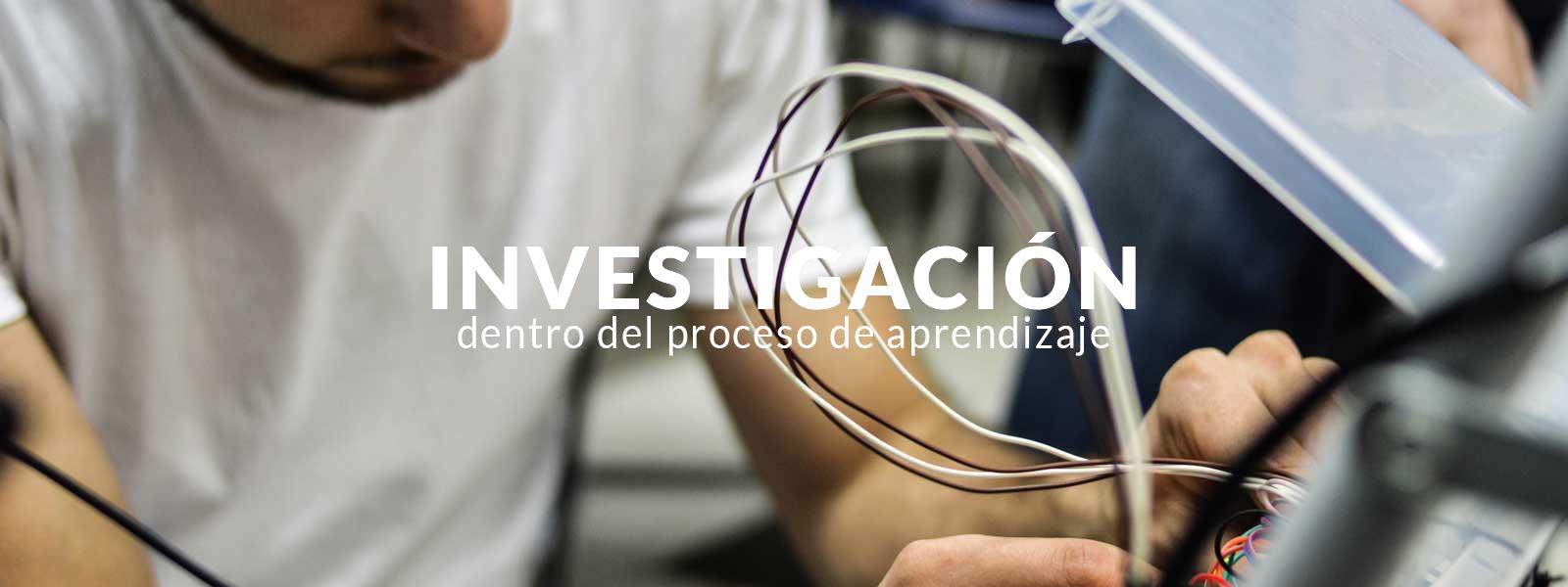 CIDI - Investigación dentro del proceso de aprendizaje