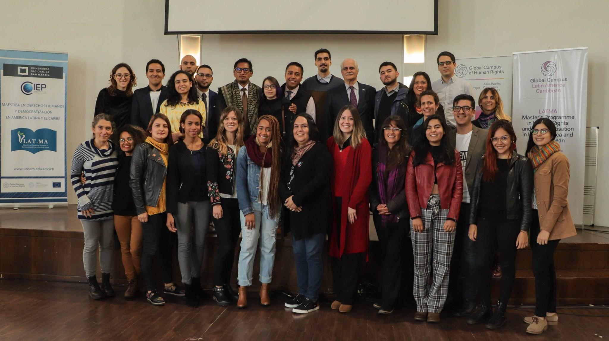 Inicia la Maestría en Derechos Humanos y Democratización con la nueva cohorte 2019 – 2020