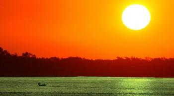 El glifosato que navega el Paraná