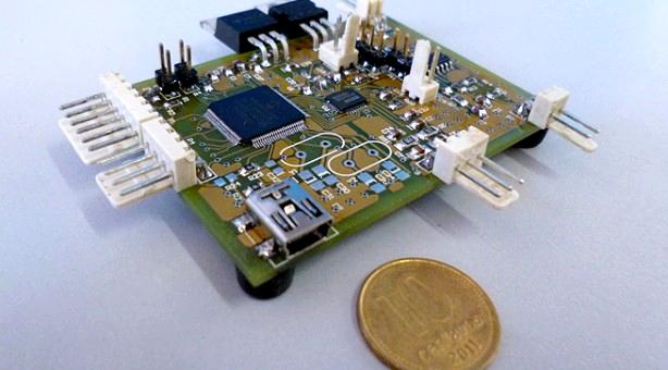 Prototipo desarrollado por investigadores de la UNMdP (Gentileza A. Uriz)