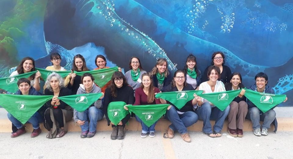 Ciencia sin Machismo se formó en en el CENPAT (Puerto Madryn) en el año 2018, a partir de la necesidad de varias investigadoras de visibilizar las violencias a las que eran sometidas de forma cotidiana.