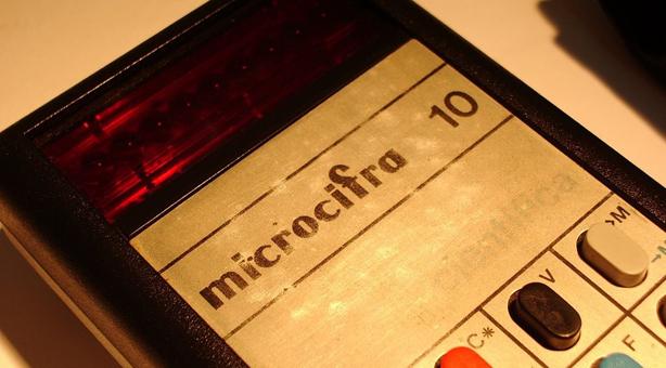 Microcifra, la calculadora argentina fabricada por Fate