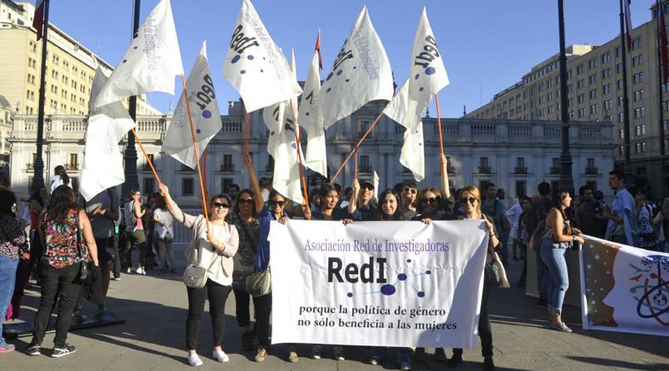 La Red de Investigadoras de Chile se creó en el año 2016 y una de sus iniciativas fue presentar, junto con senadoras y senadores de diversos partidos, un proyecto de ley para prevenir y sancionar el acoso sexual en educación superior, que ya tiene media sanción.